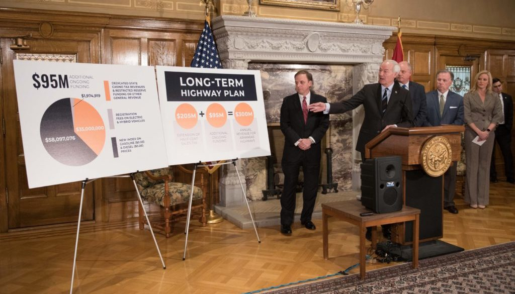 Good Roads Governor's Press Conference