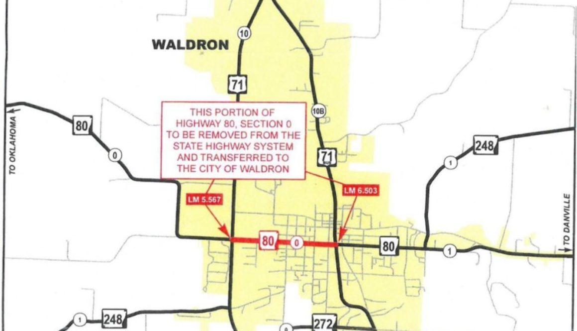 Waldron highways