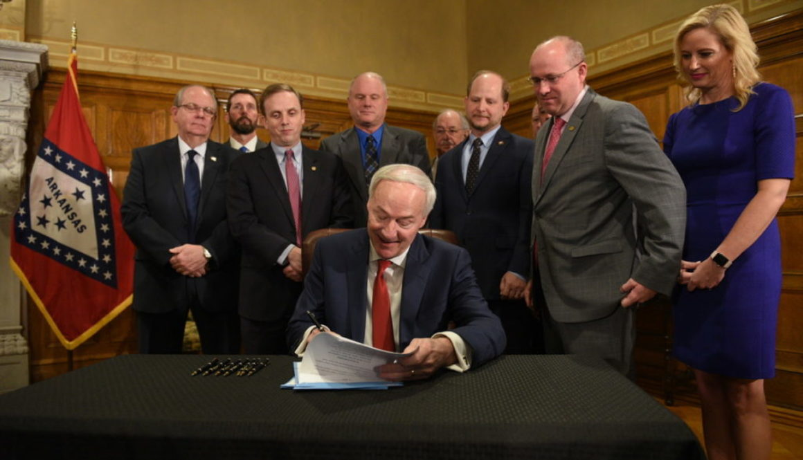 Good Roads Governor Signs Legislation