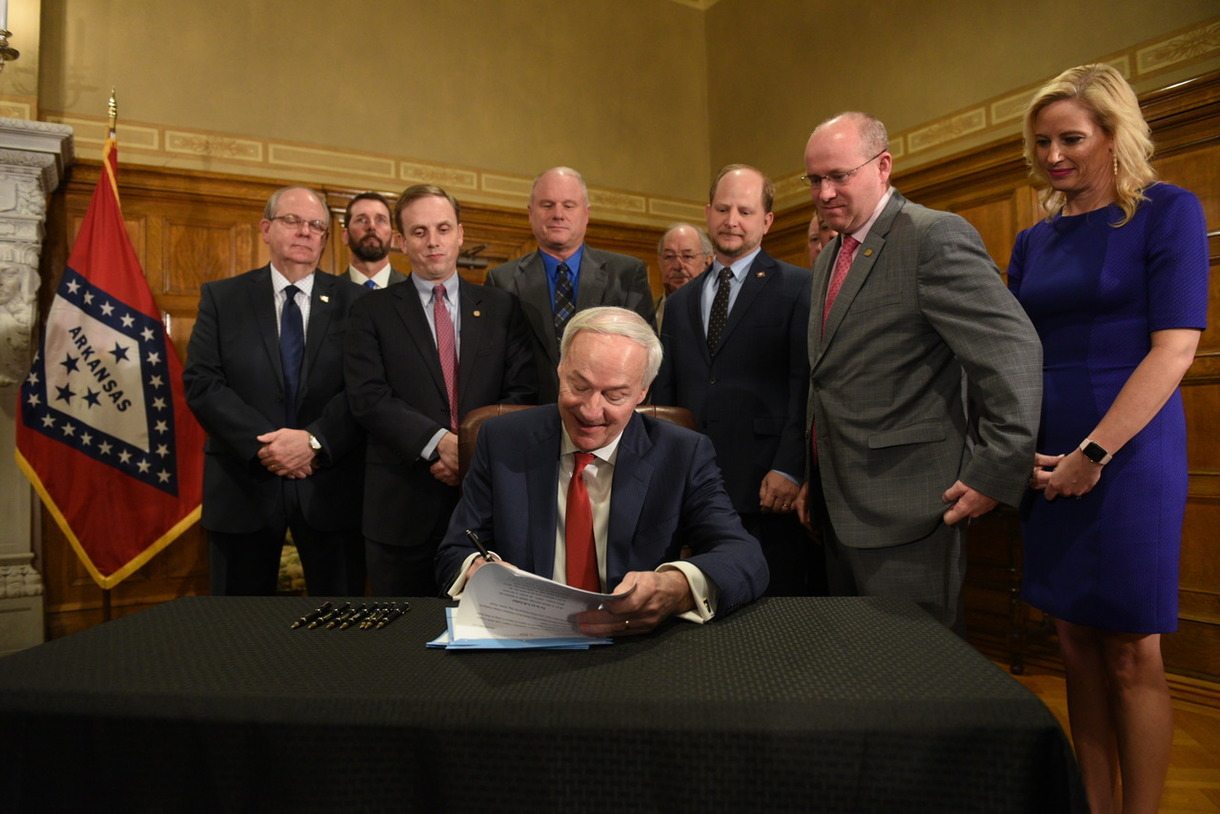 Good Roads Governor Signs Legislation