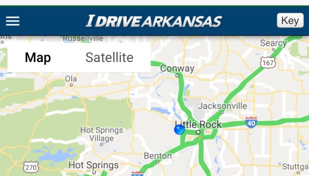 Good Roads I Drive Arkansas Screenshot
