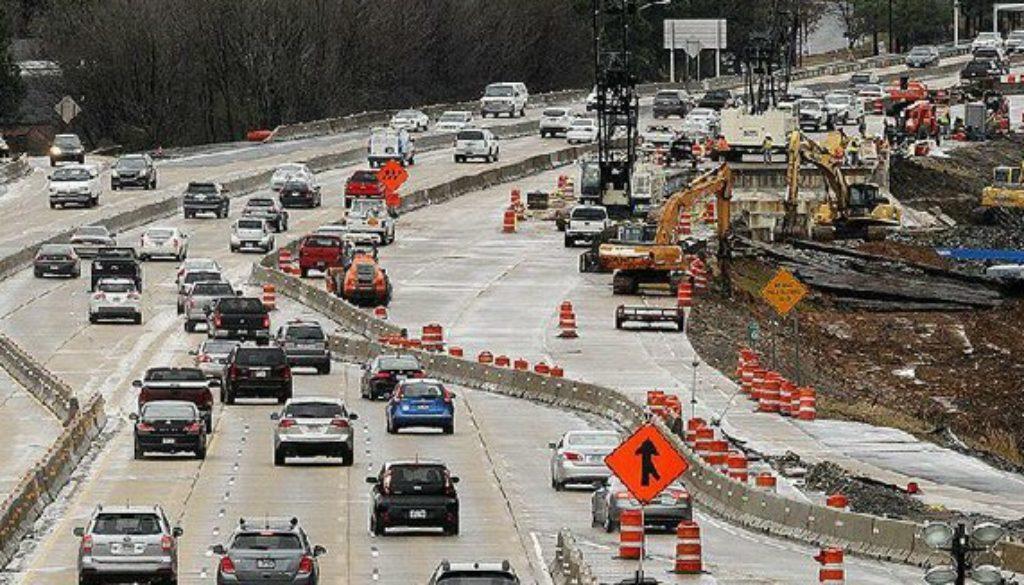 Good Roads Work Zone on 630 Little Rock