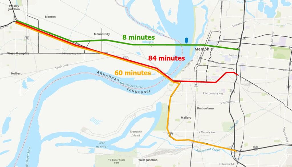 I-40-Map